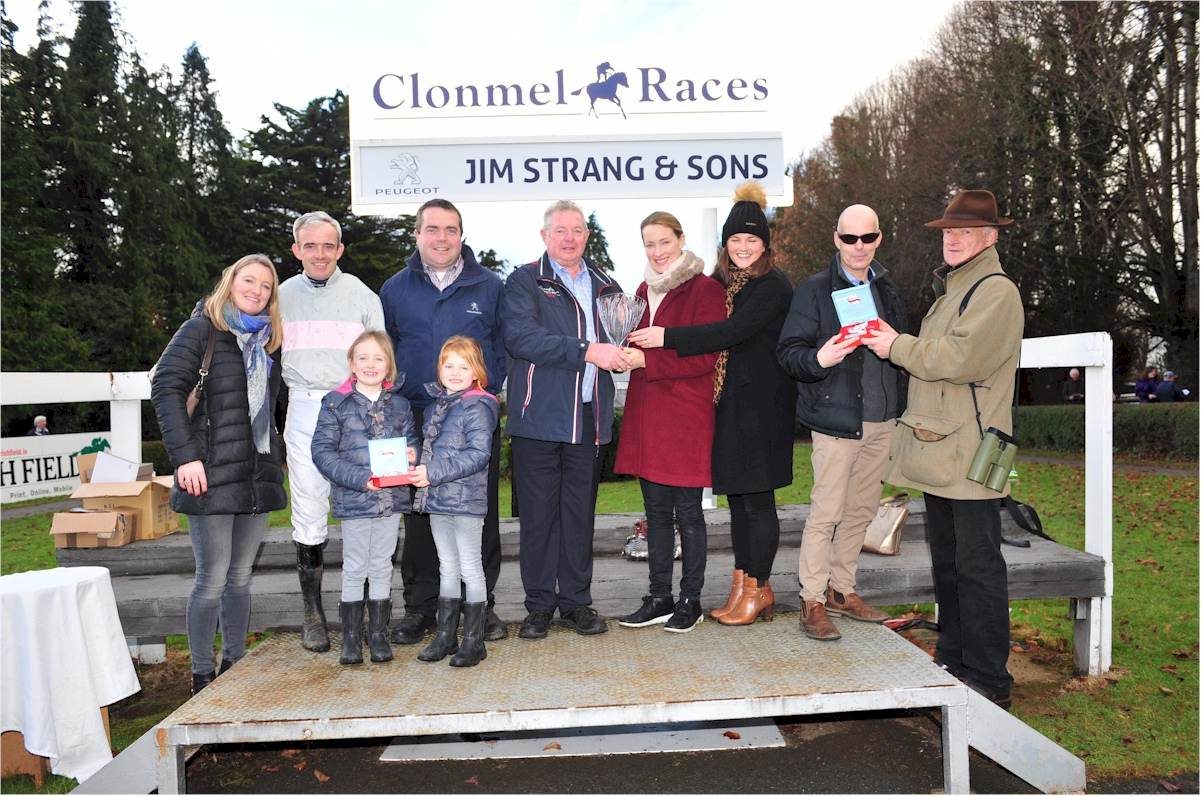 Clondaw Warrior was a top class winner of the 2016 Jim Strang & Sons Kilsheelan (Peugeot) Hurdle